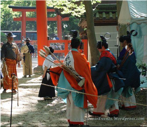 Yabusame Shimogamo Shrine Kyoto Archery practice